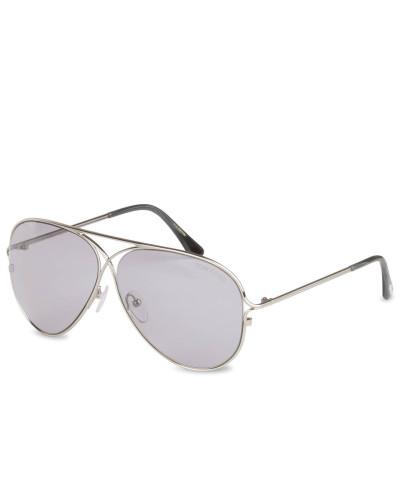 Sonnenbrille TOM N.4 - 14c – silber/ grau