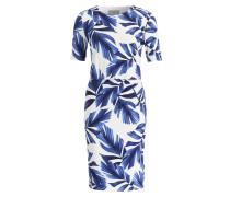 Kleid ELOISE - weiss/ blau