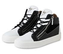 Hightop-Sneaker - schwarz/ weiss