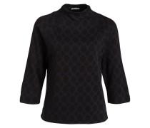 Pullover mit 3/4-Arm - schwarz/ navy