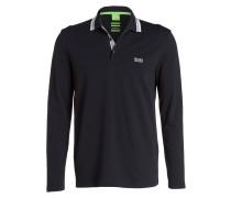Piqué-Poloshirt PLISY - schwarz
