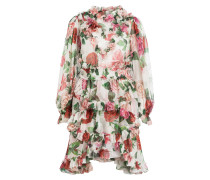 Chiffon-Kleid aus Seide