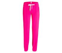 Hose TRACKING im Jogging-Stil - pink