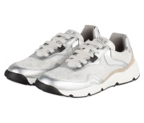 Sneaker SPACE - silber/ sand