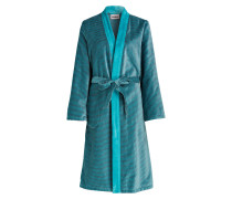 Damen-Bademantel - blau