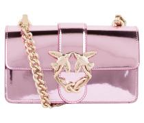 Umhängetasche - pink metallic