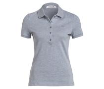 Piqué-Poloshirt - braun