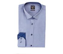 Hemd No. Six super slim - blau