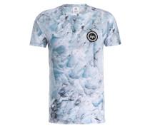 T-Shirt - hellblau/ blau/ weiss