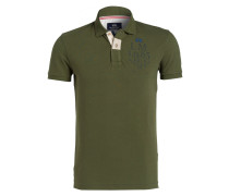 Piqué-Poloshirt DIONIGI Slim-Fit - oliv