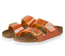Sandalen ARIZONA SHINY SNAKE - orange