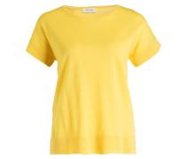 Strickshirt - gelb