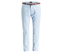 Chino STUART Slim-Fit - hellblau