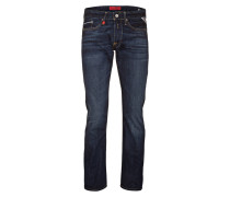 Jeans WAITOM Regular Slim-Fit - blau
