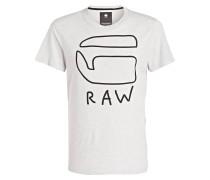 T-Shirt - ecru meliert
