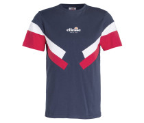 T-Shirt ZARDINI - blau/ weiss/ rot
