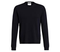 Pullover mit Nietenbesatz - marine