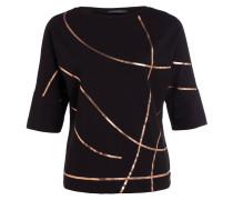 T-Shirt - schwarz/ bronze