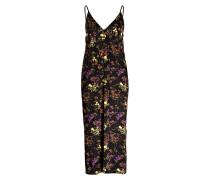 Kleid ABBY - schwarz/ violett