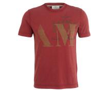 T-Shirt - dunkelrot