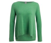 Cashmere-Pullover - grün