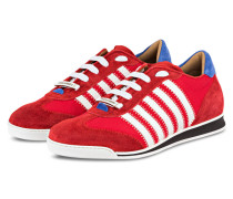 Sneaker NEW RUNNER - rot/ weiss