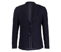 Jersey-Sakko GUIDO Modern-Fit - blau