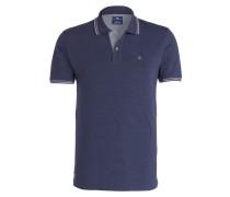 Piqué-Poloshirt Easy-Fit - indigo