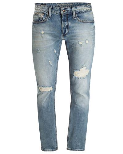 Destroyed-Jeans RAZOR Slim Fit