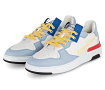Sneaker WING - WEISS/ HELLBLAU