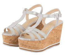Wedges LAGO - grau