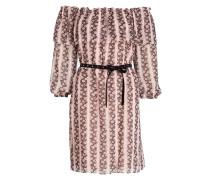 Kleid RESPECT - puder/ rosè