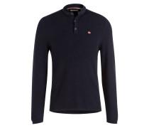 Henley-Shirt DANL - dunkelblau