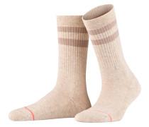 Socken UNCOMMON CLASSIC - creme meliert