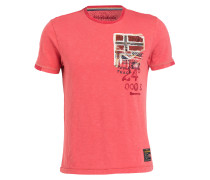 T-Shirt STAK - koralle