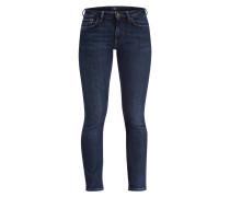 Skinny-Jeans - blue washed