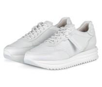 Plateau-Sneaker JAZZ - WEISS