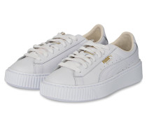 Sneaker BASKET PLATFORM CORE - weiss