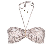 Bandeau-Bikini-Top SUN DAPPLED DECADENCE