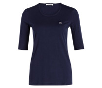 T-Shirt mit 3/4-Arm - navy