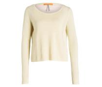 Pullover WARRADYN mit Leinenanteil - gelb