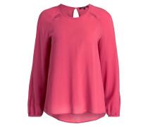 Seidenbluse - pink