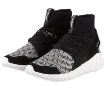 Hightop-Sneaker TUBULAR DOOM - schwarz
