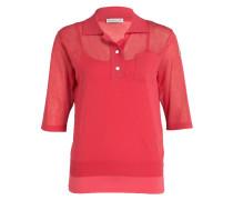 Poloshirt mit Top - rot