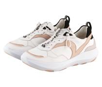 Sneaker VSN 01 - WEISS/ BEIGE