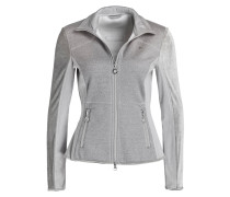 Sweatjacke ANDOVER mit Materialmix