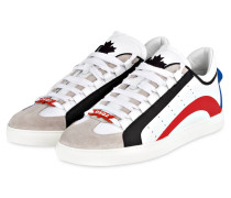 Sneaker 551 - weiss/ rot/ schwarz