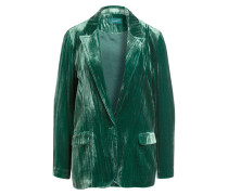 Samtblazer - grün