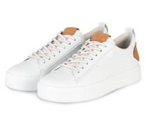 Sneaker UP - WEISS/ CAMEL