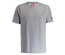 T-Shirt BONDED - grau meliert